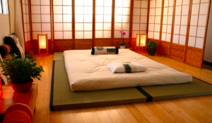 Example of Futon for Japanese Massage Therapy
